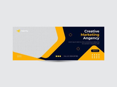 Social media banner ads, timeline covers banner, Facebook covers Corporate social media covers design