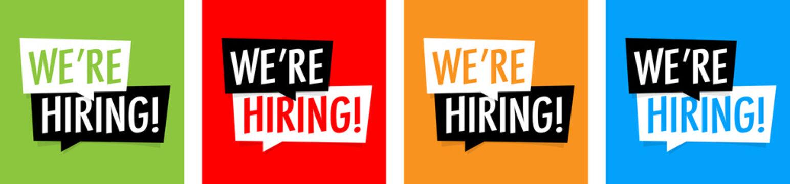 We're hiring !