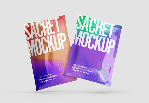 Sachet Mockup