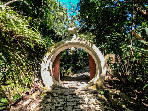 Edward James Surrealist garden Las Pozas, Xilitla, San Luis Potosi, Mexico