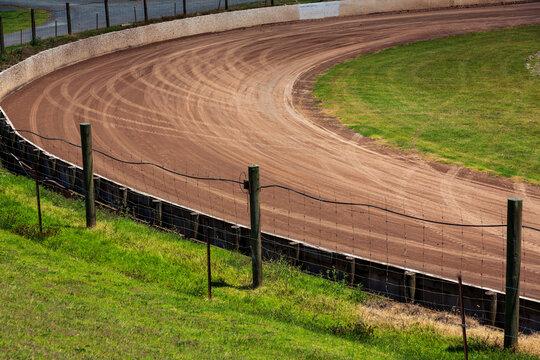 Speedway corner