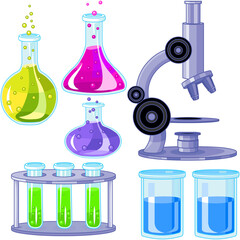 Science Lab Tools Set