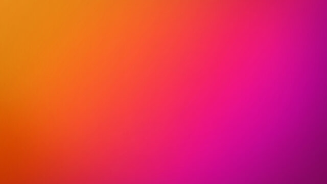 Pink, Purple, Orange and Yellow Gradient Summer Defocused Blurred Motion Abstract Background, Vivid Colors Smooth Digital Design Element Widescreen Background Blur, Bright Vibrant Neon Sunset Colors