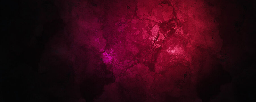 Red Dark Grungy Background Texture Minimalist and High Quality Over 8K Resolution 3D Illustration