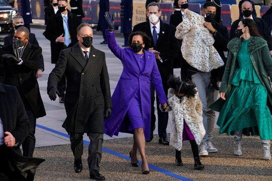 Inauguration Day parade for U.S. President Joe Biden, in Washington