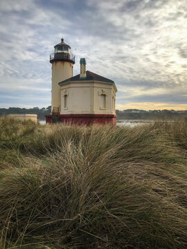 Bandon Oregon Lighthouse beautiful old architecture