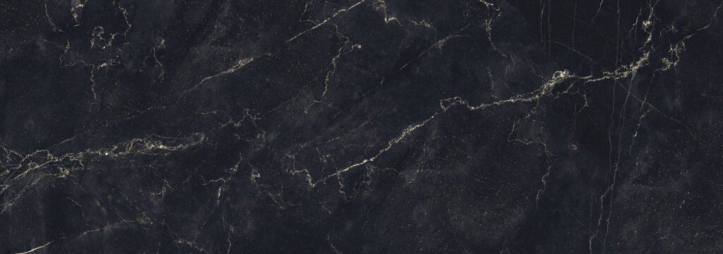 Granite Marble Background, Royal Black and Gold vain marble stone, natural pattern texture background and use for interiors tile, luxury design with high resolution, Modern floor or wall decoration.