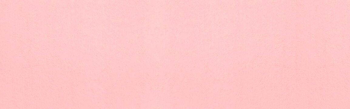 Panorama of pastel pink carton paper texture and seamless background