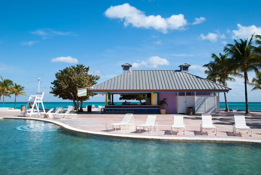 Grand Bahama Island Swimming Pool And The Sea