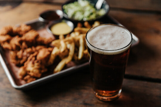 Beer and Chicken Tenders