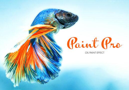 Oil Paint Photo Effect