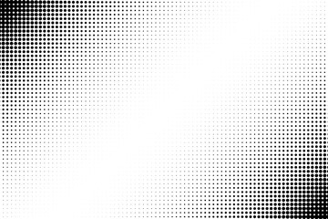 Gradient dots background. Pop-art texture. Pop art template. Vector illustration eps10