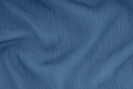 transparent navy blue cloth, dark textile creative background