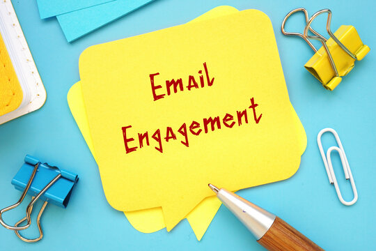 Email Engagement phrase on the page.