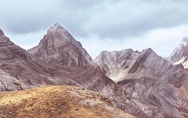 Mountains in Peru