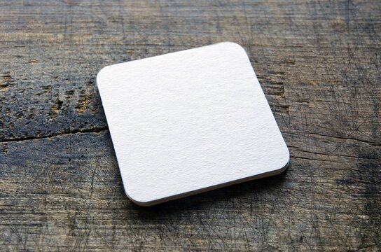 White beer coasters