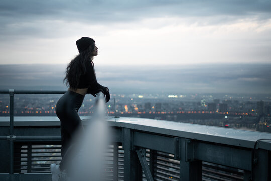 Lonely Girl on a Roof
