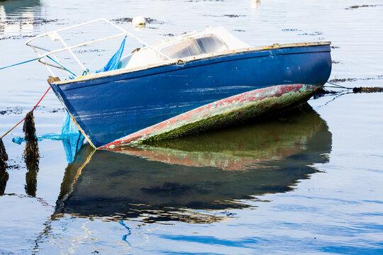 Barque de pêche à Conleau