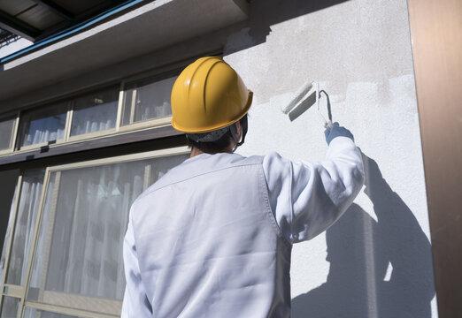 住宅 リフォーム 外壁の塗装 イメージ