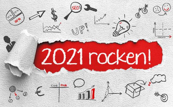2021 rocken! - positive Motivation für ein erfolgreiches Jahr