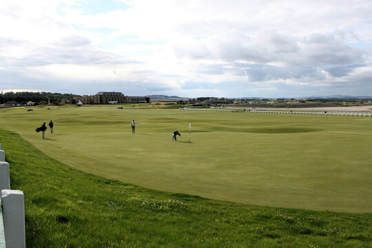A view of St Andrews Golf Course