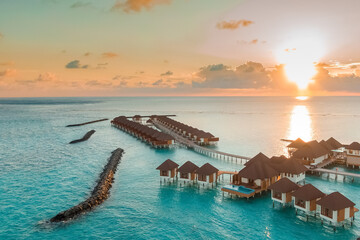 A Beautiful Scenery In Maldives