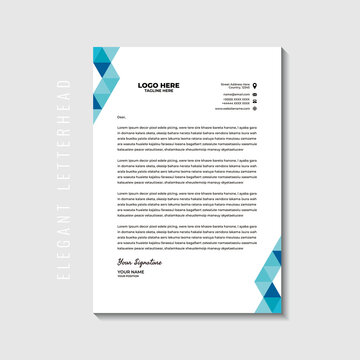 Illustration vector graphic of letterhead,perfect for letterhead template,letterhead business,letterhead office,office stationery,office needs,employees,etc