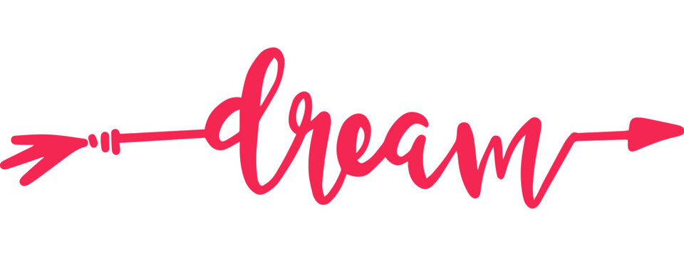Cute banner ,simple with DREAM word