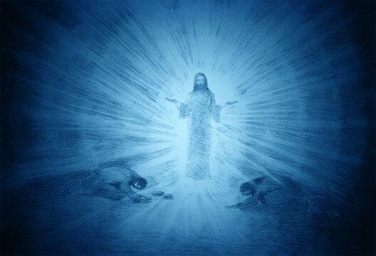 the transfiguration of jesus on Mount Tabor
