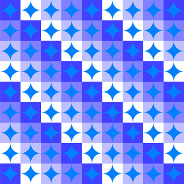 abstract geometric background four pointed star 01