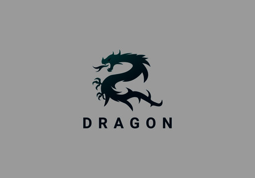branding, dragon, emblem, fire, knife, logo, logotype, monster, print, shape, sharp, sign, snake, strength, strong, sword, symbol, template, trendy, war, weapon, web, website, zodiac