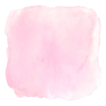 Watercolor abstract coral pink delicate background
