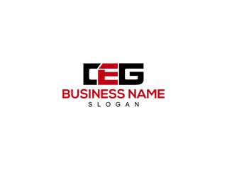 Obraz Letter CEG Logo Vectors For Your Business - fototapety do salonu