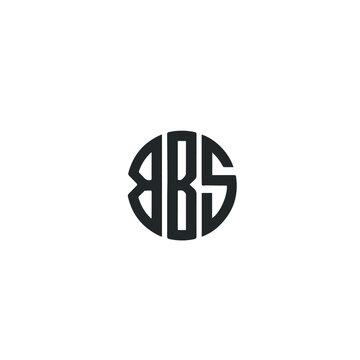 BBS symbol on white