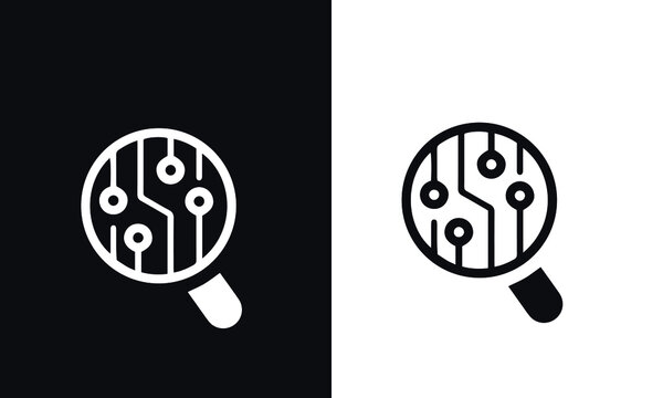 Artificial Intelligence icon vector design