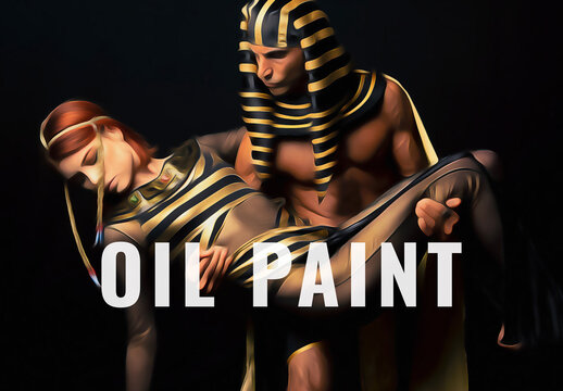 Rich Oil Painting Photo Effect