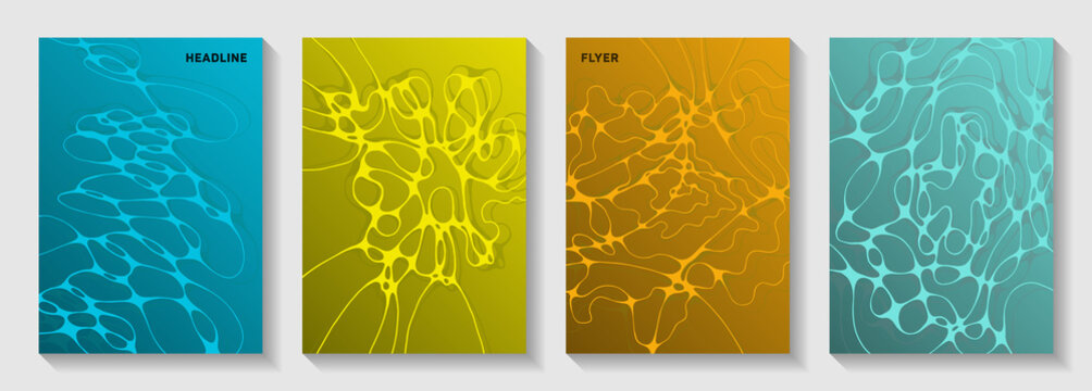 Artificial intelligence concept abstract vector