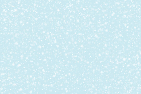 Blue background with snowflakes.  New Year, Christmas and all celebration background.