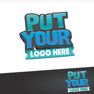 Put Your Here Typo Logo
