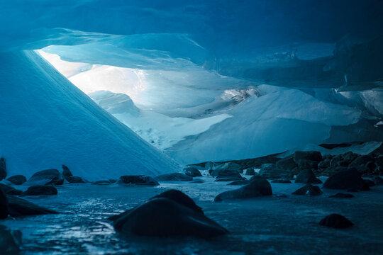 Ice Cave near Valdez, Alaska