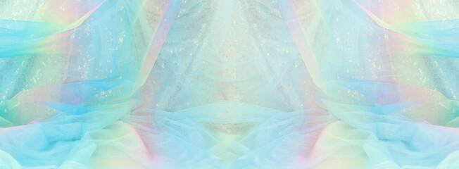 Gradient colors pastel vintage tulle chiffon texture background