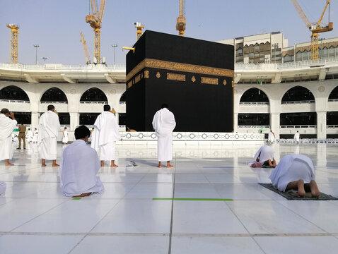 Umrah, Masjid al-Haram, Mecca , Makkah , Saudi Arabia
