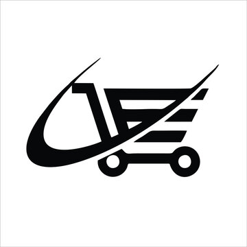 Basket Icon Outline. Vector wagon outline icon isolated on white background. Trendy wagon line icons and modern basket symbols for logos, web, apps, ui. Simple basket sign icon.