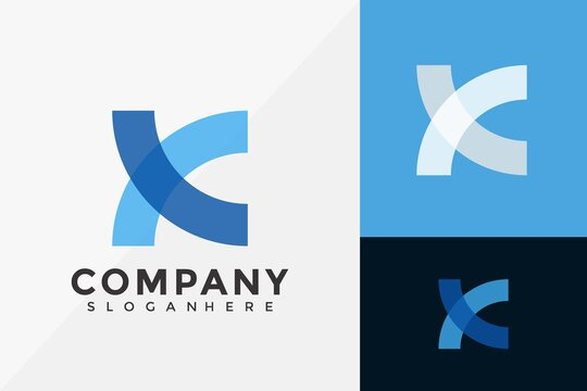Letter X Business Logo Design, Brand Identity Logos Designs Vector Illustration Template