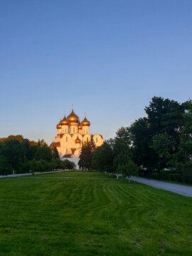 Yaroslavl. Summer evening. Assumption Cathedral