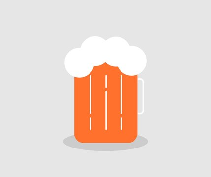 design about milk soda icon illustration