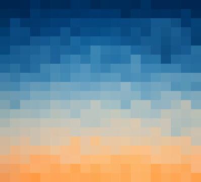 Abstract Blue light geometric Background, Creative Design Templates. Pixel art Grid Mosaic, 8 bit vector background.