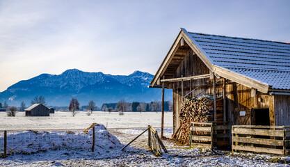 Wall Mural - old barn in austria