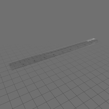 Plastic ruler 2