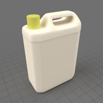 Plastic can 2